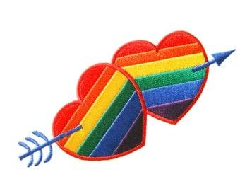 Tarjeta e lesbiana gay