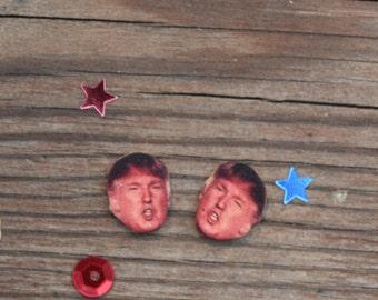 Donald Trump Earrings