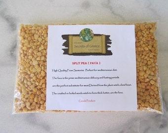Perfect For Mediterranean Diet. High Quality Greek Famous Split Pea ( Fava ) From Santorini Island.