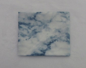 Fat Quarter, Realistic Marble Blue Fabric Package 232