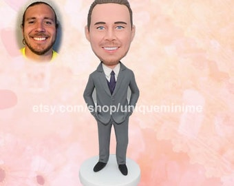 Groomsmen gifts, Groomsmen gifts idea, best man gift, gifts for groomsmen , unique gift for groomsmen ,custom bobblehead gift for groomsmen