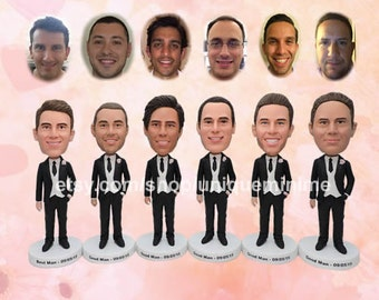 Unique Groomsman Gift, Groomsmen Gift, Best Man Gift, Groom Gift - Custom Figurine or Bobblehead dolls