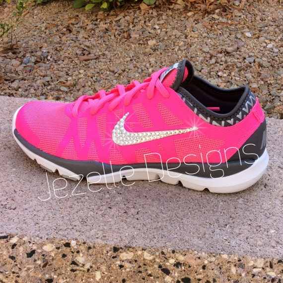 buy hot pink sparkle nike shoes