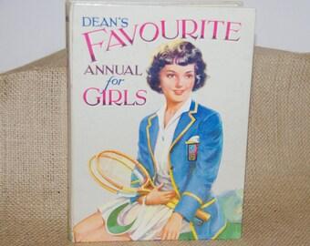 Dean's Favorite Annual for Girls circa late 1950s