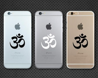 Apple OM Symbol iPhone decal - iPhone sticker