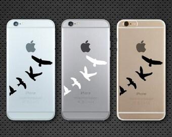 Birds iPhone decal - iPhone sticker