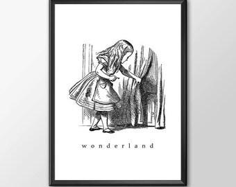 Wonderland 1 - Traditional Alice In Wonderland Art - BUY 2 Get 1 FREE