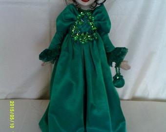 Eloise,an original art doll.