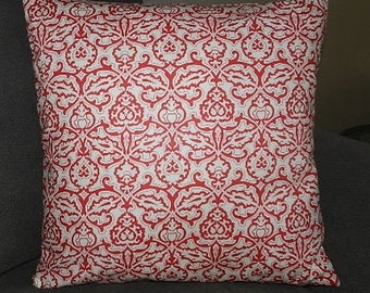 7 Sizes Available - Fig Tree by Moda Honeysweet Pillow Cover Red on Ivory