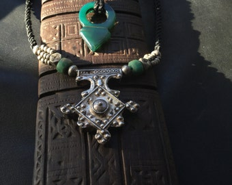 BERBER CROSS,BOGHDAD,ethnic jewellery,Berber silver,African jewellery,Berber jewellerly