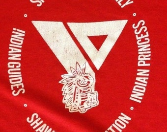 XL * vtg vintage Springfield Shawnee Federation 90s YMCA Stedman * 1.88