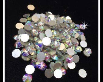 Loose Rhinestone Packs/ Swarovski Shine Rhinestones/ (Clear, AB) #0167