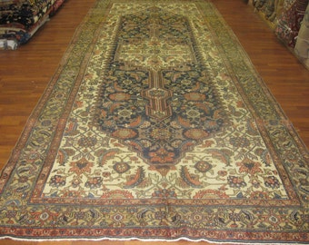 Antique Persian Gallerty size Bibikabad rug-2992