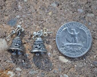 Silver Bells Dangle Earrings