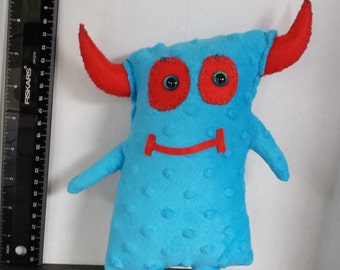 Small Handmade stuffed Monster