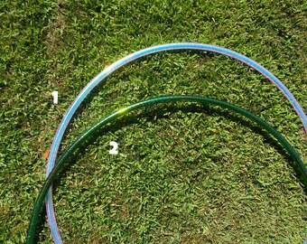 Color shift tape hdpe hula hoops