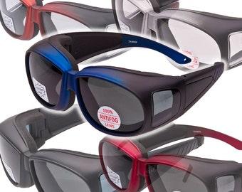 Spits Over Prescription Foam Padded Safety Glasses