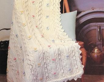 Crochet Pattern - Floral Blanket