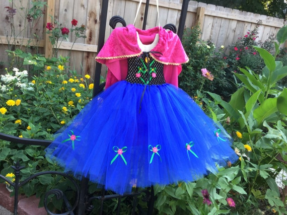 Princess Anna tutu dress