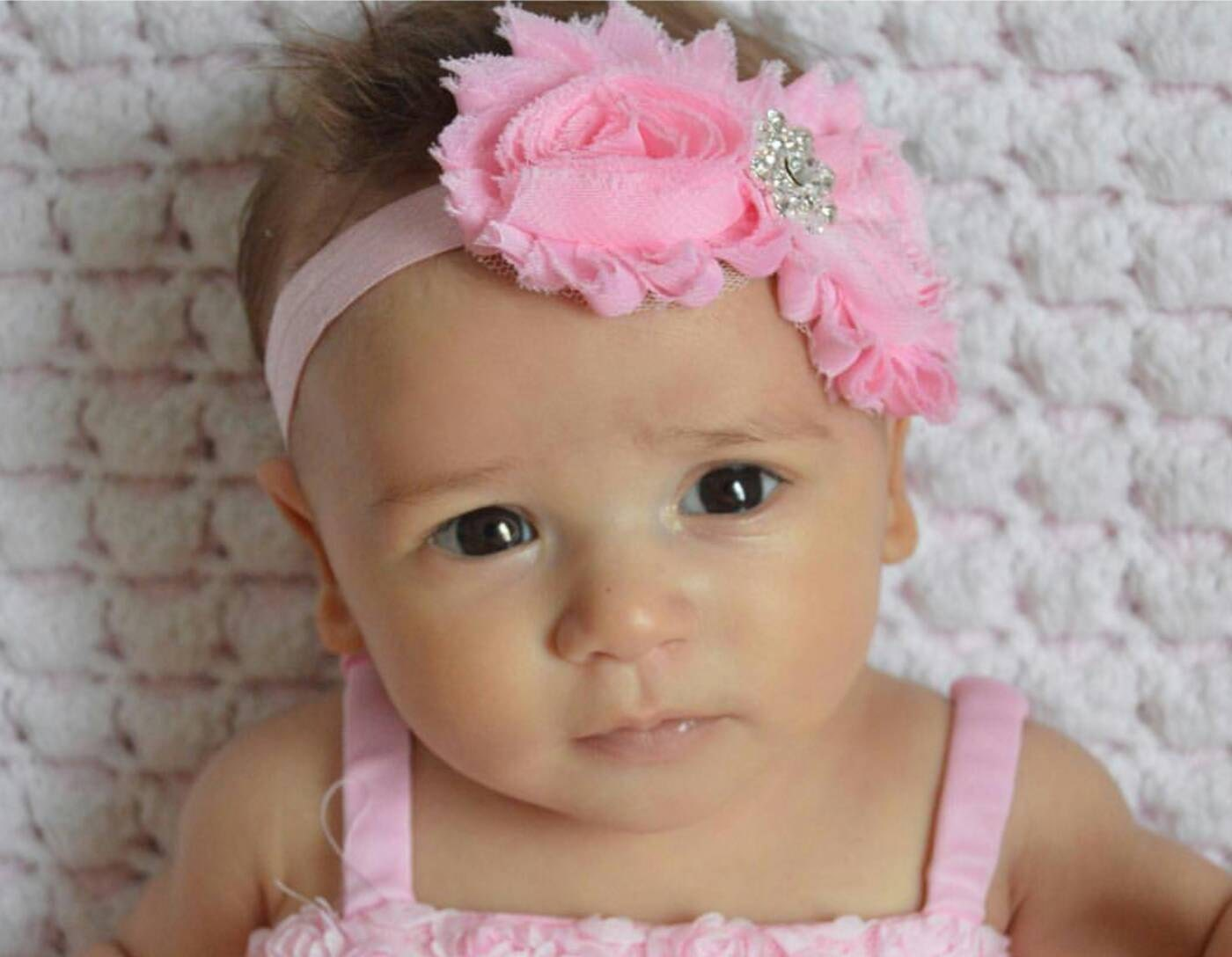 baby headband shabby bling 4 colors to choose from baby headband shabby bling 4 colors to choose from
