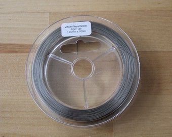 Tiger Tail Beading Wire 0.45mm x 100m