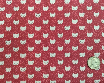 Cats Punch Fabric by Dear Stella