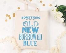 Something Blue Bag   Hen Do Bag
