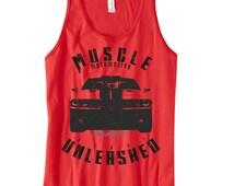 Muscle Car Tank Top, SRT tanks, cars motivational, cars shirts, cars tanks, dodge shirts, fitness shirts, fitness tanks, gym tanks, SRT tank