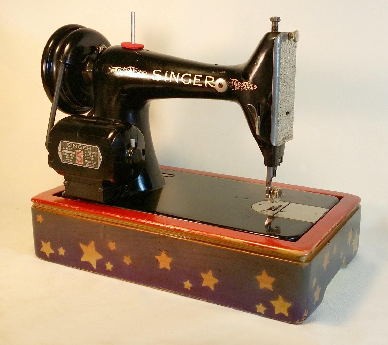 custom classic 99 wood sewing machine base for. Black Bedroom Furniture Sets. Home Design Ideas