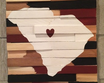 College Wall Hanging - University of South Carolina