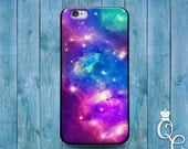 iPhone 4 4s 5 5s 5c SE 6 6s plus + iPod Touch 4th 5th 6th Generation Cute Blue Purple Blue Pink Galaxy Space Fantasy Case Cool Nebula Cover