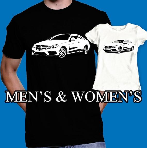 Mercedes shirt mercedes benz e class t shirt car by for Mercedes benz t shirt