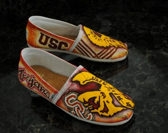 USC Painted Shoes