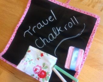 Travel chalk roll