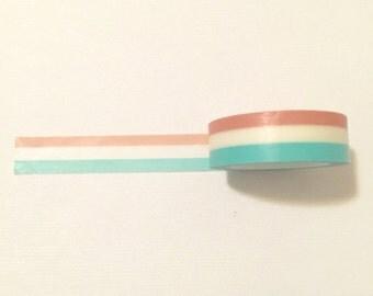 Three Colours Washi Tape