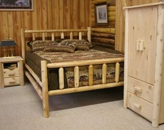 Frontier Log Beds - Full, Twin, Queen, King