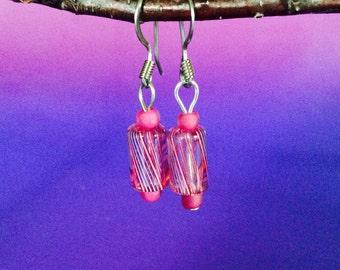 Furnace Glass Earrings