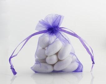 6 x 8 Lavender Organza Bag // 6 x 8 in // Organza Bags // BBBsupplies {CR-O-L003}