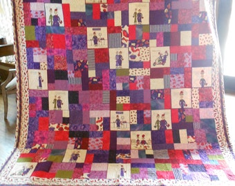 Red Hat Lady Quilt