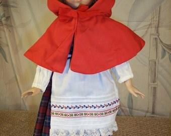 Little Red Riding Hood Porcelain Doll by Dianna Effner