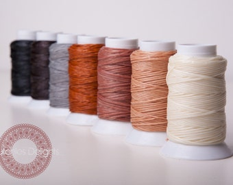 1 x 30meter waxed macrame cord 1mm divers colours - DutchiesDelights - macrame twine
