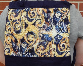 Doctor Who Exploding TARDIS Backpack