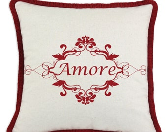 Amore Valentine Pillow