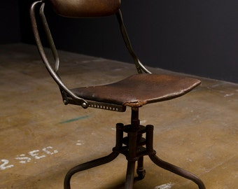 Vintage Industrial Chair - Do More Industries