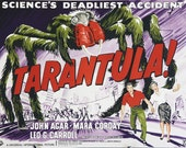 Vintage Movie Poster: Tarantula
