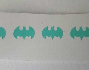 SALE Nail decals, Batman Nail vinyl,Bat nail decal, Manicure, Pedicure, Nail art, Nails, Wedding, Gift, nails,decals,vinyl,nail stickers