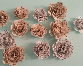 Paper Flower Lot