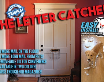 THE LETTER CATCHER - Post/Door/Letter/Mail/Box/Guard Letterbox Cage