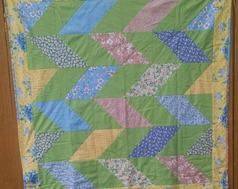 Herringbone Baby/Toddler Quilt #2