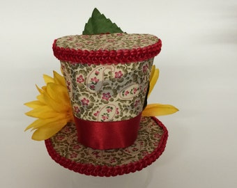 Spring Time mini top hat